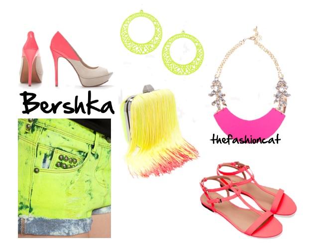 neon bershka