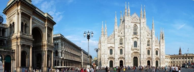 Duomo di Milano con galleria Vittorio Emanuele