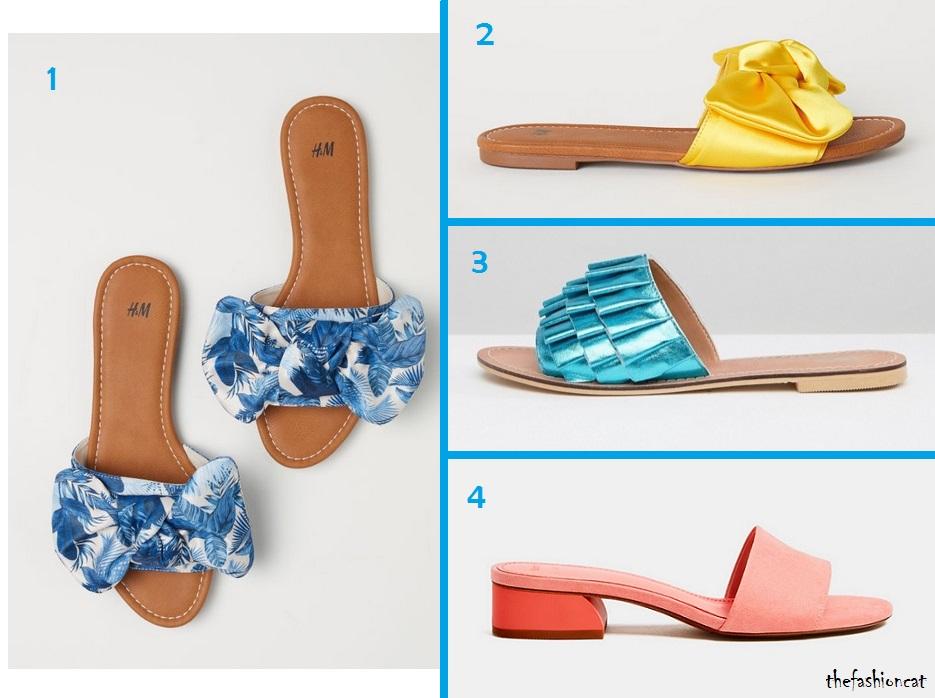 """57d83332ed Questa invece è una selezione più colorata e """"da giorno"""", per chi intende  indossare le ciabattine senza farsi troppi problemi."""